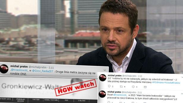 HGW Watch znów aktywny w internecie michalpretm, Twitter / hgw-watch.pl / tvn24
