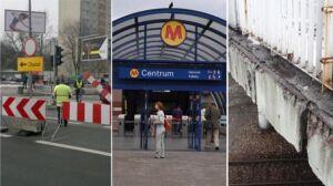Zamknięte ulice, stacje metra, zwężony most. Lista remontów