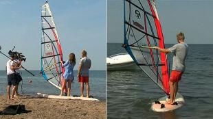 Nie wiesz, co robić na urlopie? Naucz się windsurfingu