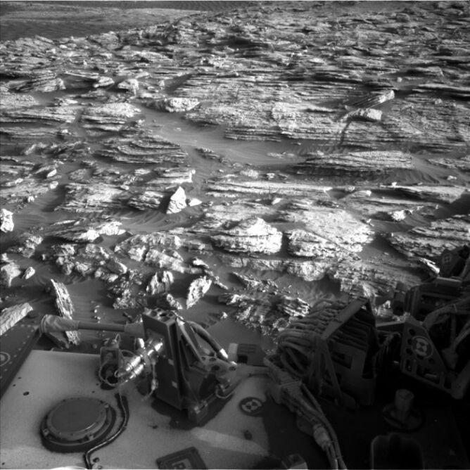 Obszar Central Butte sfotografowany 1 listopada (NASA/JPL-Caltech)