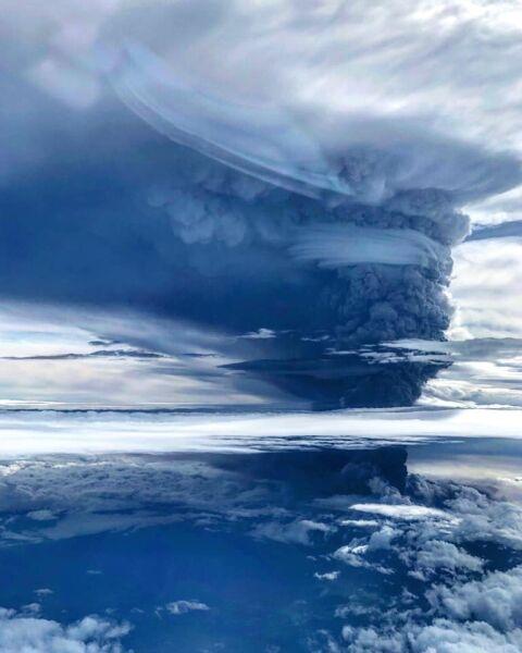Wybuch wulkanu Ulawun (Eroli Tamara)
