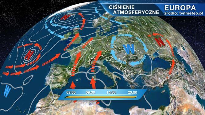 Wyż znad Karpat będzie rządził pogodą w Polsce
