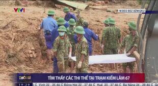 13 żołnierzy zginęło wskutek osunięć ziemi w Wietnamie