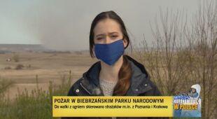 Spłonęło już sześć tysięcy hektarów terenu Biebrzańskiego Parku Narodowego